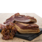 Bacon røget - 500 g