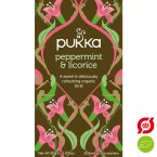 Pukka Te - Peppermint og Licorice