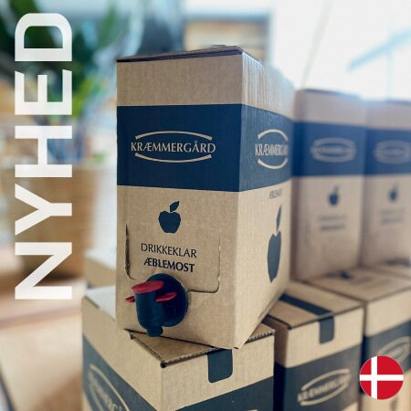 Kræmmergård Æblemost - Bag in box